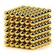 Neocube (216 balls,5mm) Golden