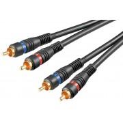 Cavo Audio 2RCA M/M 3mt Alta qualità