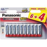 Baterii Panasonic Everyday Power LR6EPS/6+4F 10 Bucati