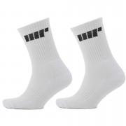 Myprotein Crew Socks - UK 9-12 - White/White
