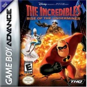 THQ The Incredibles: Rise of the Underminer Game Boy Advance Standard Edition