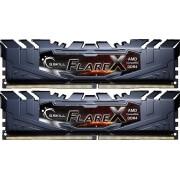 DDR4 16GB (2x8GB), DDR4 2400, CL16, DIMM 288-pin, G.Skill Flare X F4-2400C16D-16GFX, 36mj