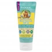 Badger Natuurlijke Zonnebrandcrème (Geschikt voor baby's) - Badger
