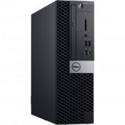 PC Dell OptiPlex 7070, 18XDN, SFF, Intel Core i7 9700 3GHz, 256GB SSD, 16GB, Intel UHD 630, Windows 10 Professional, crna, 36mj, Tipk., Miš