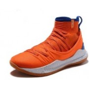 The Underarmour UA Curry 5 Crimson Orange Training & Gym Shoes For Men(Orange)