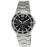 Casio Quartz Black Round Men Watch A483