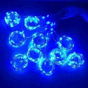 3M x 3M 300-LED Fairy String Lights Christmas Wedding Garden Decoration - Blue