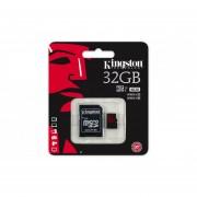 Memoria MicroSDHC Adata 16GB Clase 10 Con Adaptador AUSDH16GUICL10-RA1-Negro