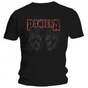 Pantera: Watermarked Skulls (tricou)
