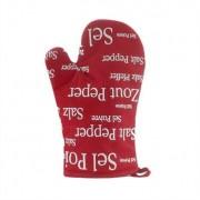 Gant rouge Sel & Poivre 32 cm Winkler