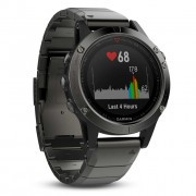 GPS мултиспорт часовник Garmin Fenix 5X Sapphire - 010-01733-03