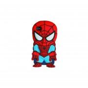 Ofertas Funda silicón rígido carcasa para IPhone 4 y 4S Marvel Spiderman-Azul con Rojo