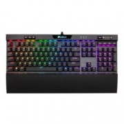 Клавиатура Corsair K70 RGB MK.2 Low Profile RAPIDFIRE, гейминг, механична, RGB подсветка, черна, USB