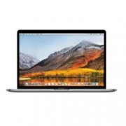 "Лаптоп Apple MacBook Pro 15(MR972ZE/A)(сребрист), шестядрен Coffee Lake Intel Core i7-8850H 2.6/4.3GHz, 15.4"" (39.11 cm) WQXGA Retina дисплей & Radeon Pro 555X 4GB(USB C), 16GB, 512GB SSD, сензорен бар, MacOS High Sierra, 1.83kg"