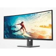 """Monitor IPS, DELL 37.5"""", U3818DW, Curved, 5ms, 1000:1, HDMI/DP, Speakers, 21:9, 3840x1600 (U3818DW-14)"""
