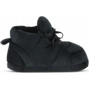 Geen Zwarte sneaker model sloffen/pantoffels voor dames