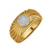 Diemer Diamant Damenring mit Brillanten, gold