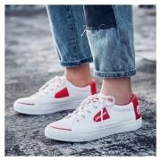 Hombre Zapatos Casual De Correr Tailun-cool-Blanco Y Rojo
