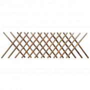 vidaXL Ограда хармоника, импрегнирано дърво, 250x100 см