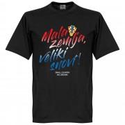 Retake Kroatië Mala Zemlja, Veliki Snovi T-Shirt - Zwart