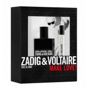 Zadig & Voltaire This Is Him EDT тоалетна вода за мъже 50 мл. + EDT 10 мл.
