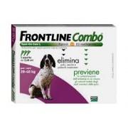 Merial Italia Frontline Combo spot on Cani da 20 a 40 kg (3 pipette)