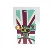 "Capa Protetora ""Flip Book Fashion Pirate Bird"" BQ Aquaris 5.0"