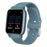 T1 Thermo Detecting Smart Watch Band 1.3-inch IPS Color Screen Health Monitoring Fitness Tracking Smart Bracelet - Blue