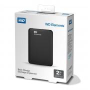 Външен твърд диск Western Digital Elements Portable 2TB USB 3.0 Black