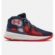 Under Armour Primary School UA Torch 2019 Basketball Shoes Blue 40