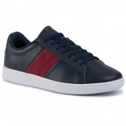 Сникърси LACOSTE - Carnaby Evo 319 1 Sma 738SMA00145A5 Nvy/Dk Red