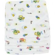Neska Moda 7X7 Baby Wash Clothes/Handkerchief Pack of 6