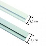 Sina aluminiu pentru perdea, 1 canal