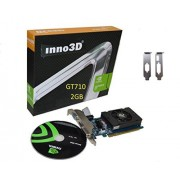 Inno3D n710 – 1sdv-e3bx GeForce GT 710 2 GB GDDR3 grafische kaart, n710 – 1sdv-e3bx