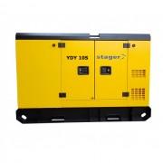Generator insonorizat Stager YDY10S, silent 1500rpm, diesel, monofazat