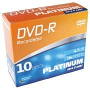PTM 102566 - DVD+R 4,7GB, 10-SlimCase
