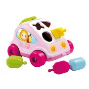 Smoby Cotoons Shape Shorter Car, Pink