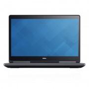 Laptop Dell Refurbished Precision 7710 17.3 inch FHD Intel Core i7-6920HQ 16GB DDR4 256GB SSD nVidia Quadro M3000M 4GB Black