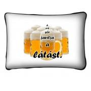 Díszpárna, A sok sör javítja a látást
