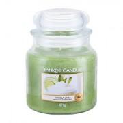 Yankee Candle Vanilla Lime vonná svíčka 411 g