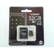 Kingston 32 GB MicroSD Card Class 10 90.0 MB/S Memory Card(With Adapter)