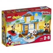 LEGO DUPLO, Disney Junior - Casa de pe plaja a lui Mickey si prietenii 10827
