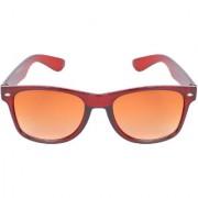 Aligatorr Stylish Brown Double Shade UV 400 Wayfarer Sunglass An53