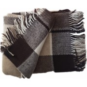 Patura lana merinos Valentini Bianco Elf5 140 x 200 cm maro