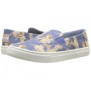 TOMS Luca Disneyreg Princesses (Little KidBig Kid) Blue Snow White Printed Canvas