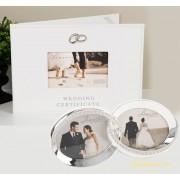 Carte pentru certificat de casatorie rama verighete