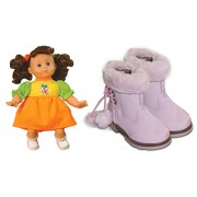 Akshat Konia Baby Doll Soft Material Doll with Pink Stylish and Cool Baby Girls Shoes (24 No.) Dolls for Girl Dolls Accessories