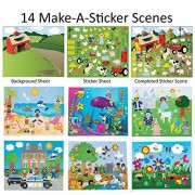14 Make-A-Sticker Scene Variety Pack (7 different Sticker Scenes