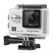 Camera sport de actiune 4K Kruger Matz, unghi 170 grade, rezistenta la apa
