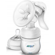 Philips Avent SCF330/20 Handmatige borstkolf - met Philips Avent Natural babyfles -125 ml